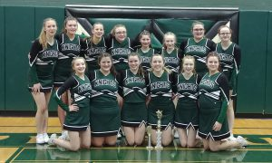 middleburgh cheerleaders pose for a picture
