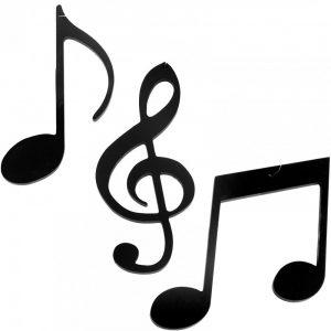 music note art