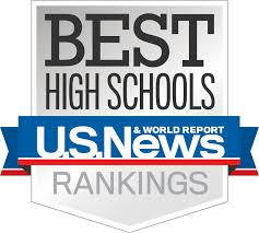 US News and World Report high school ranking