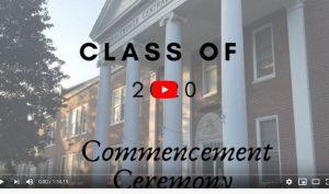 commencement ceremony title