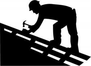 clip art of roofing work