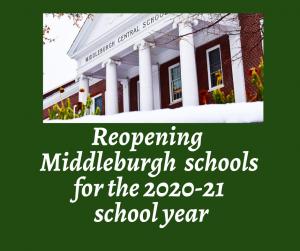 Reopening schools artwork